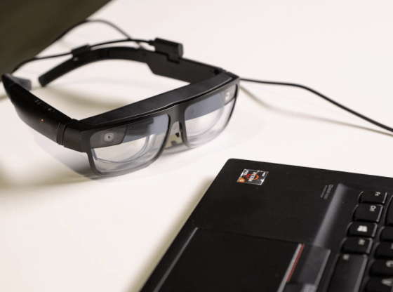 ThinkReality A3 smart glasses built for business and industrial users