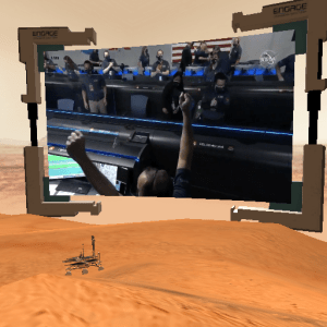 Editor's comment - Perseverance and landing on Mars 6