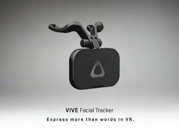 HTC Vive launches accessories for facial and full-body tracking - Facial Tracker 2
