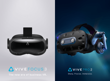 HTC Vive caters to business and consumers with Vive Focus 3 and Pro 2 VR headsets - Vive Focus 3 - Controllers