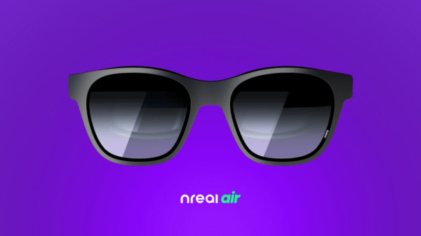 Nreal Air smart glasses to arrive later this year - Front view of the Nreal Air smart glasses