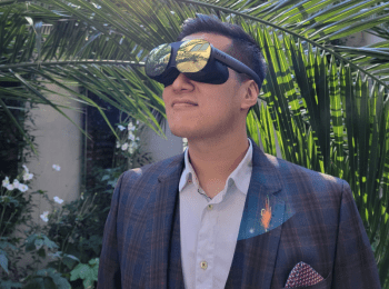 Vive Flow VR glasses pair productivity with mental wellbeing - Vive Flow VR glasses 1