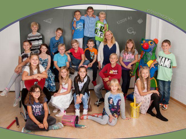 Unsere Klassen 1617  Grundschule Giebelstadt