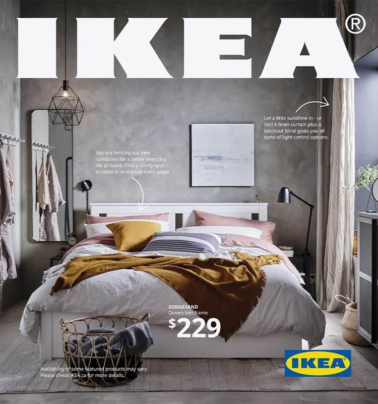 Ikea catalog as an example of 3d design advertising