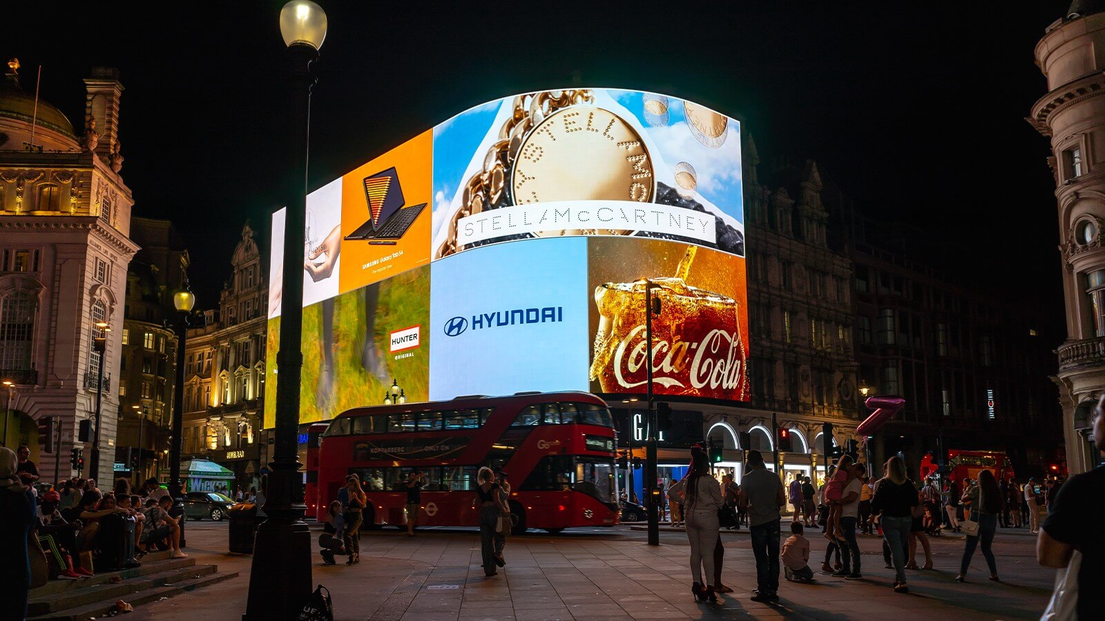 Digital Signage in Piccadilly Circus, London