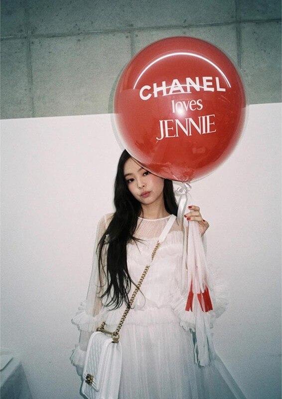 chanel jennie blackpink luxury brand marketing for a digital advertising