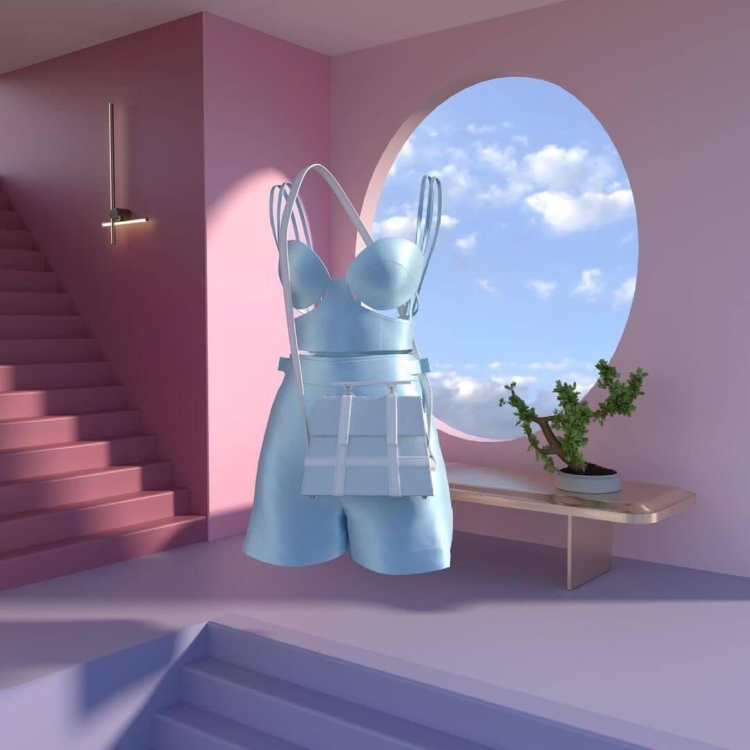 Lipika_pd's garment design using Clo3D