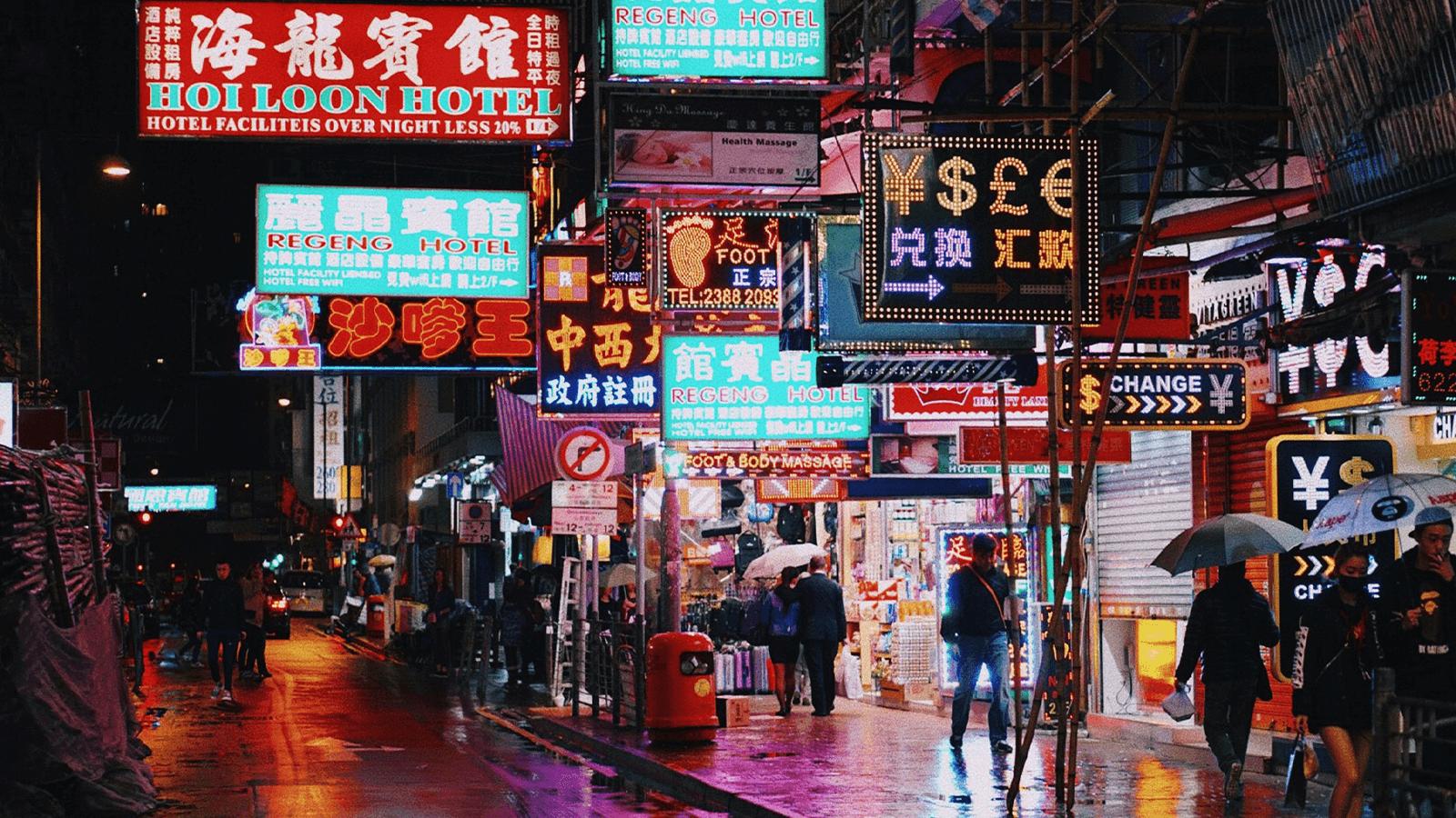 Asian Market Growth-HongKong