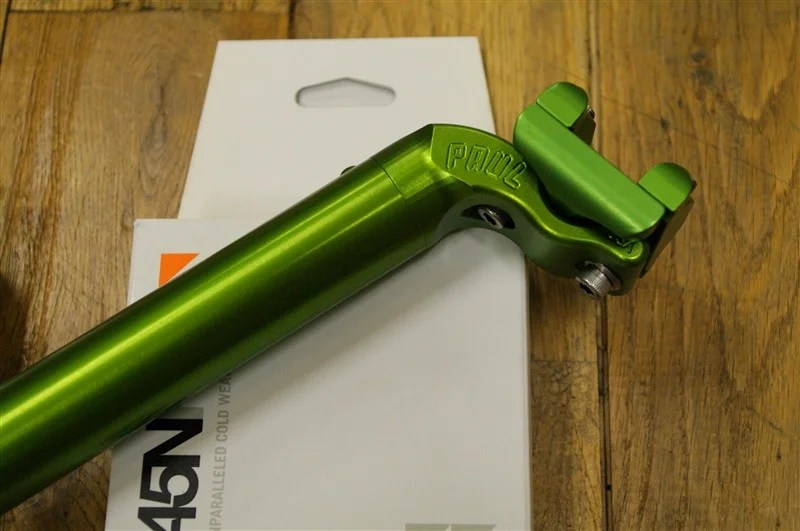 PAUL / TALL AND HANDSOME SEAT POST GREEN