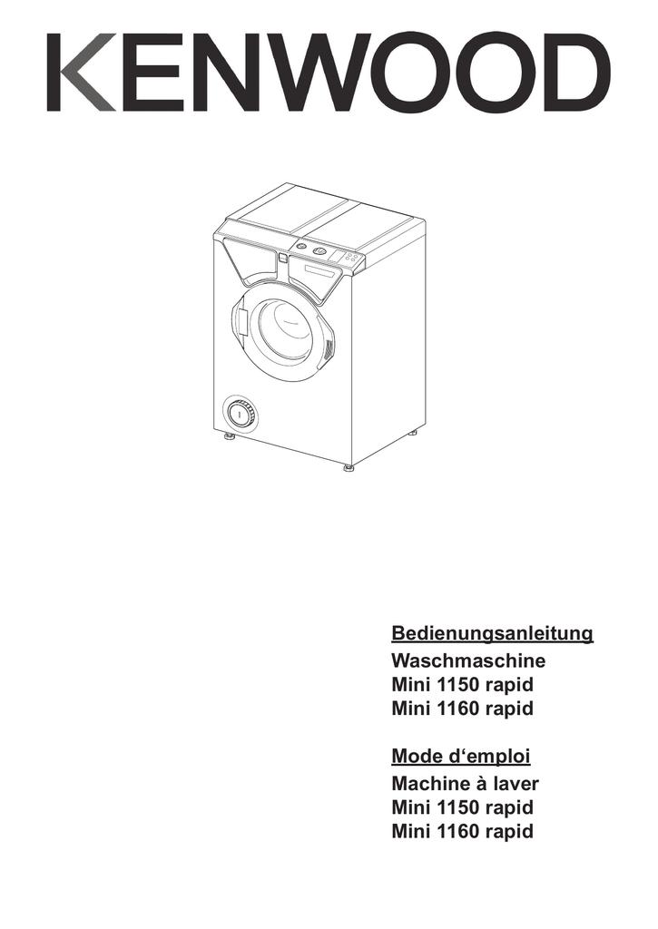 Bedienungsanleitung Waschmaschine