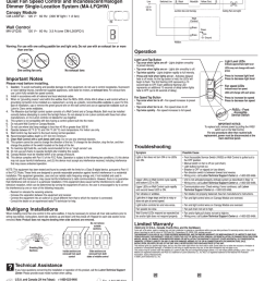 lutron ma lfqhw wh instructions assembly [ 801 x 1024 Pixel ]