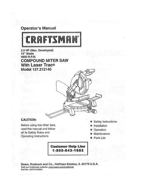 small resolution of craftsman compound miter saw wiring diagram