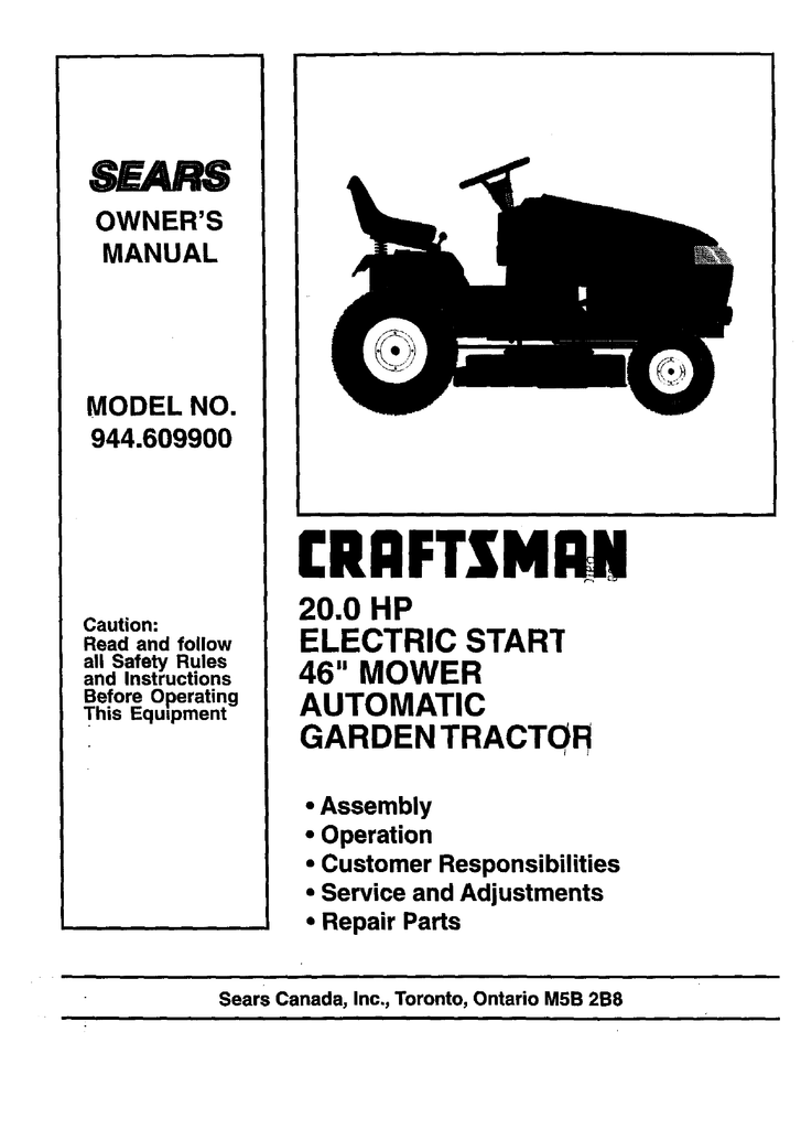 Craftsman 113244400