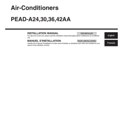 mitsubishi electric pead a24 installation manual rh manualzilla com midea mini split air conditioner wireing diagram midea mini split air conditioner  [ 1275 x 1651 Pixel ]