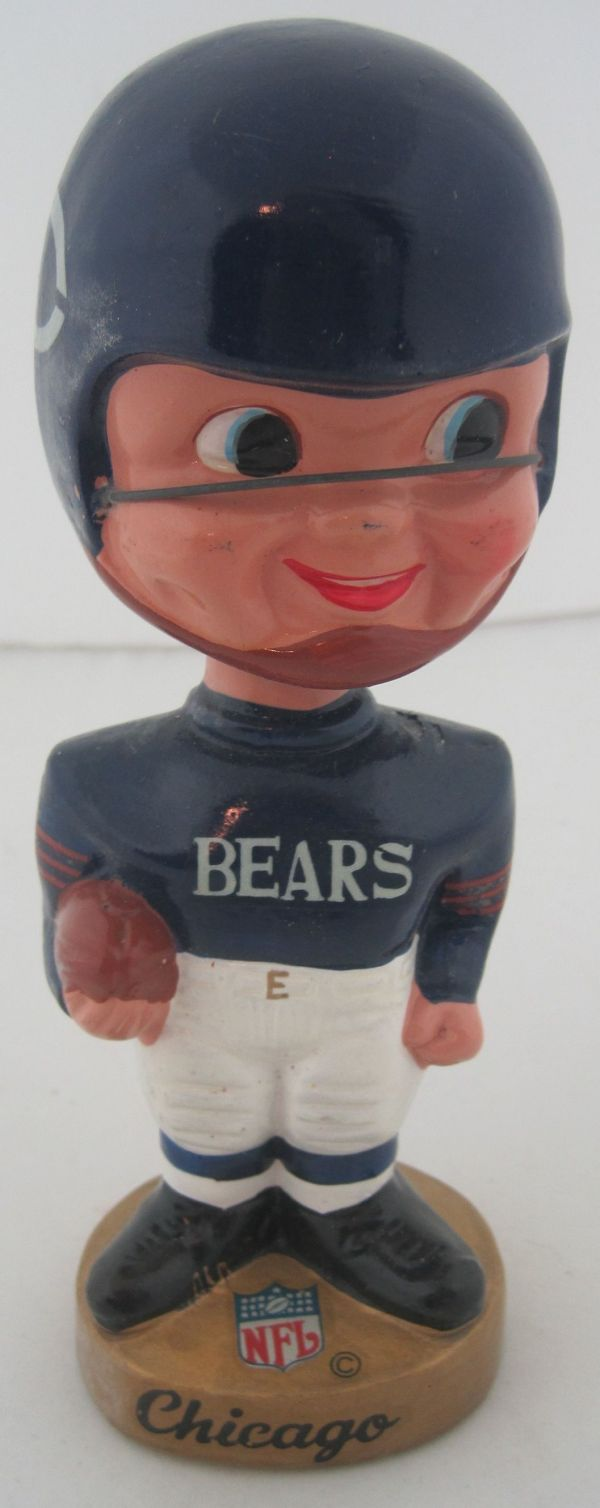 Lot Detail Chicago Bears Vintage 196039s NFL Bobblehead