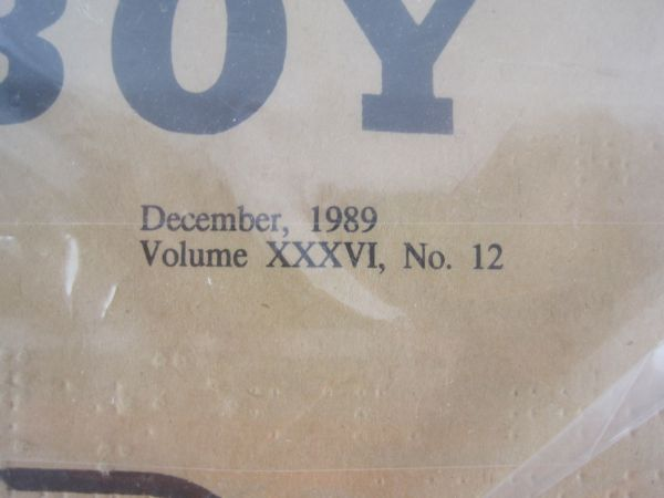 Lot Detail Rare December 1989 Braille Issue of Playboy