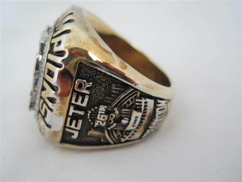 Pictures Derek Jeter Mvp World Series Rings