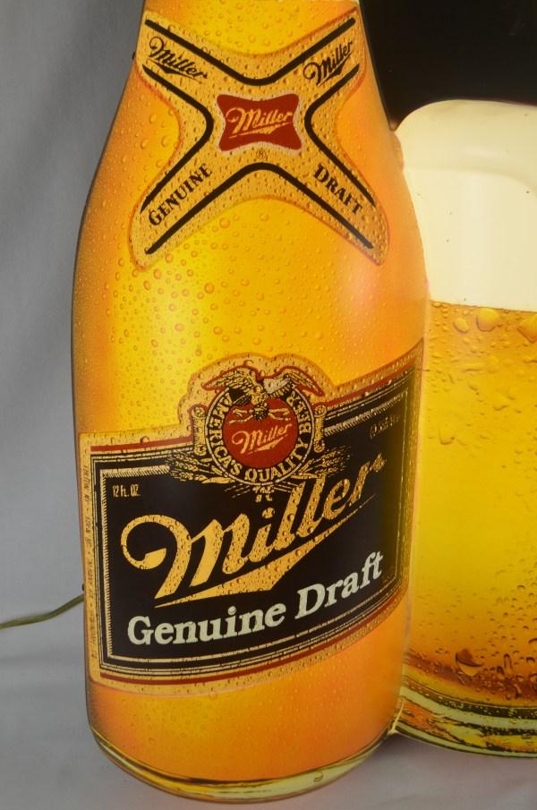 Lot Detail - Vintage Miller Beer Neon Sign