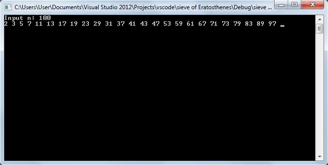 Поиск простых чисел - vscode.ru