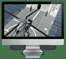 CBT screenshot on monitor