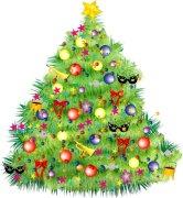 картинка новогодняя елка