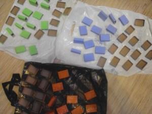 красим коробки в различные цвета