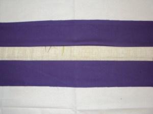 лоскутную ленту режем на прямоугольники