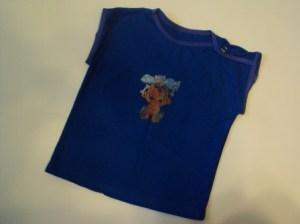 детская футболка с застежкой