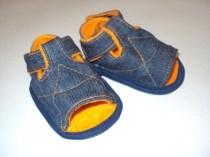 первые сандалии своими руками