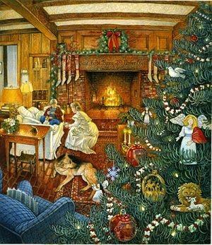 рождество в старину