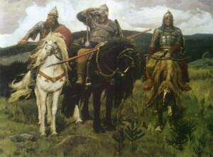 картина три богатыря