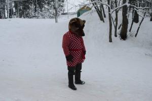 медведь в Кукобое