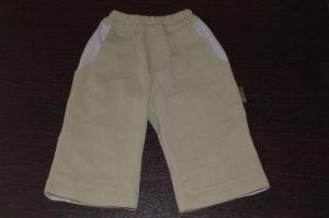 десткие штаны вид спереди