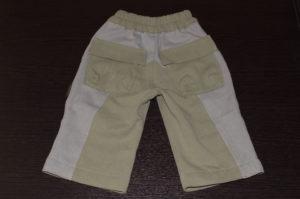 детские штаны вид сзади