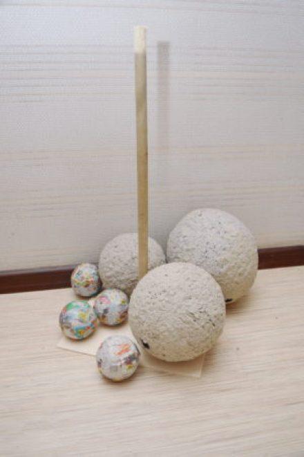 шары из папье-маше