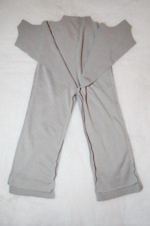 шьем подкладку для зимнего полукомбинезона