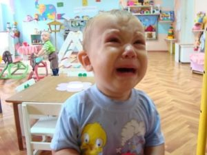 ребенок не хочет идти в детский сад