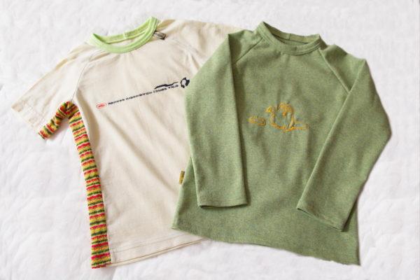 варианты детских футболок своими руками