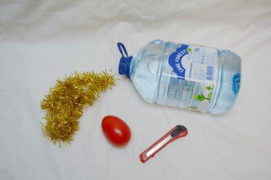 материалы для большой новогодней игрушки