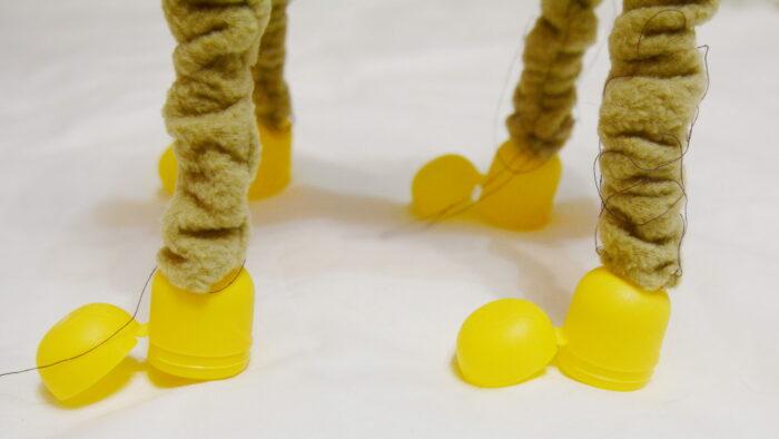 делаем ножки новогоднего оленя