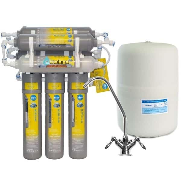 7-ступенчатая система обратного осмоса Bluefilters Newline RO 7 с минерализатором и биокерамическим картриджем