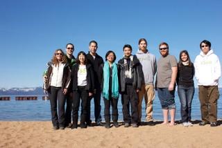 VSee team on beach image