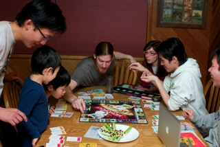 playing monopoly image