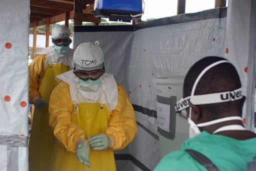 CDC Ebola unit suit
