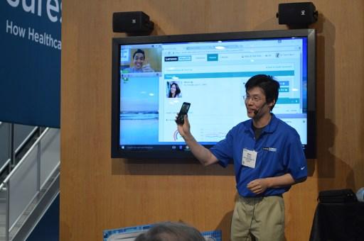 VSee Lenovo telehealth patient monitoring
