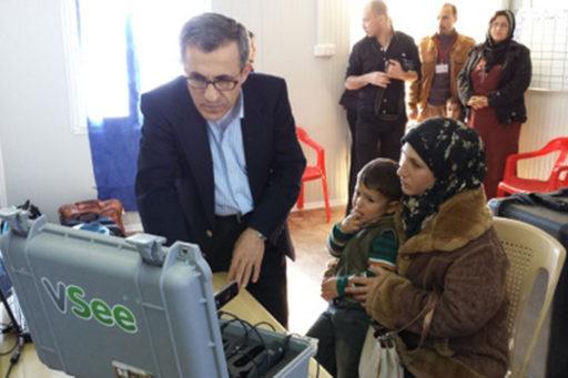 VSee iraq refugee telemedicine