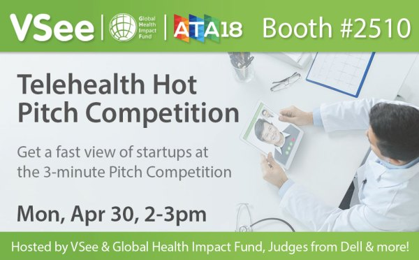VSee-GHIF shark tank pitch finalists for ATA18