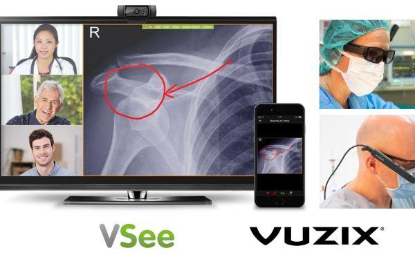 VSee Showcasing Vuzix Smart Glasses Telehealth Solution at ATA19–Google Glass Finally Realized