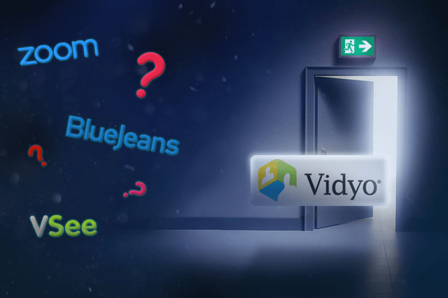 vidyo videoconference exit