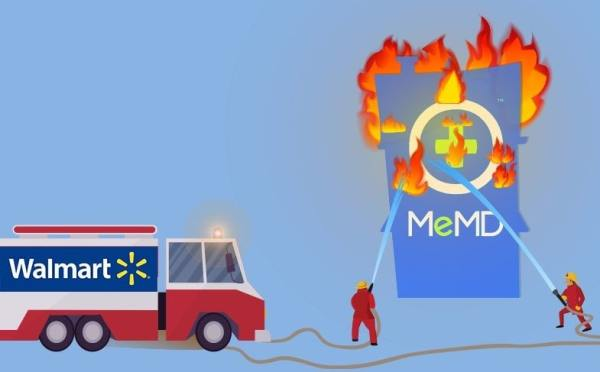 Walmart acquires MeMD for ONLY $6M?